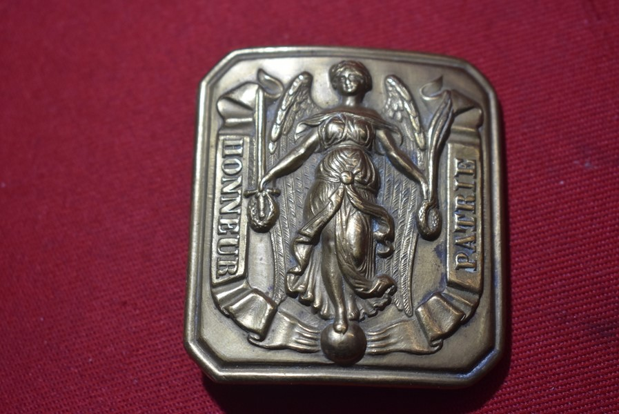 FRENCH ARMY BELT BUCKLE, LOUIS PHILLIPE, NON COMMISSIONED OFFICER