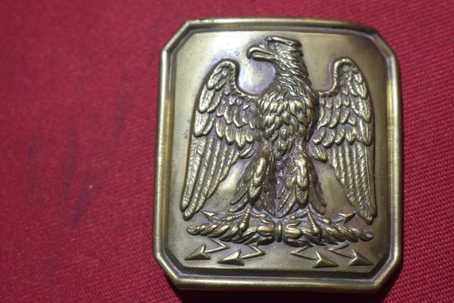 FRENCH SECOND EMPIRE NAPOLEON III CAVALRY TROOPERS BELT BUCKLE