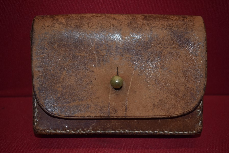 AUSTRALIAN MARTINI CADET RIFLE LEATHER AMMO POUCH-SOLD