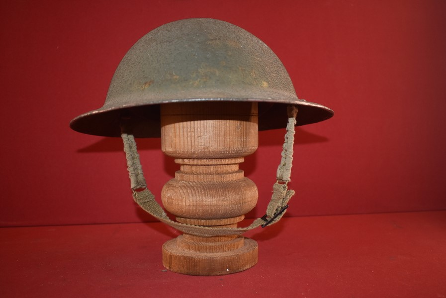 "WW2 BRITISH ISSUED ""TOMMY HELMET""-SOLD"