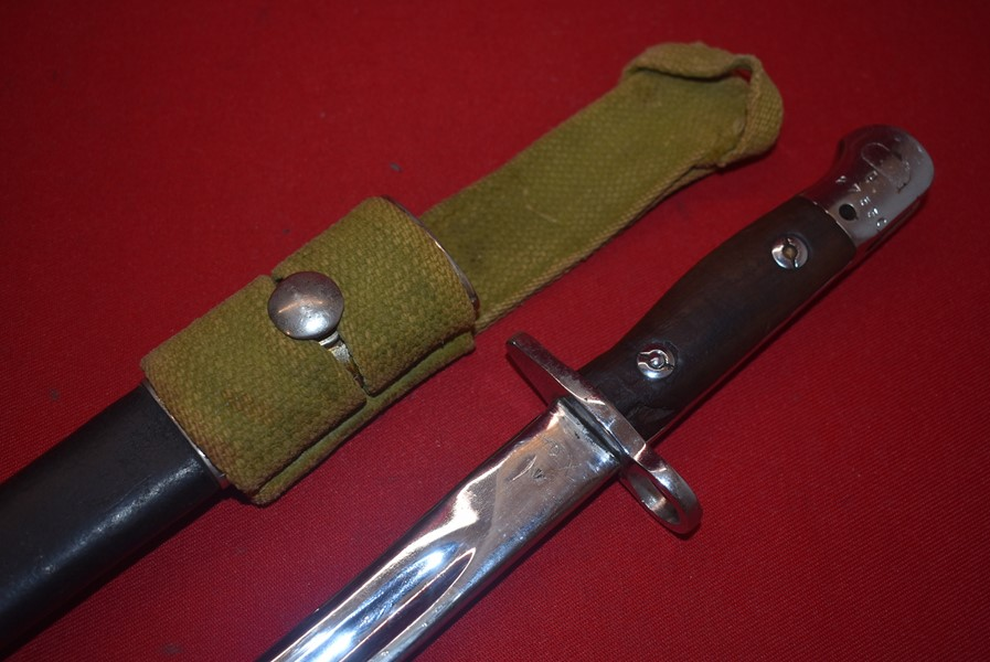 WW2 AUSTRALIAN ISSUED PARADE BAYONET FOR THE 303 RIFLE