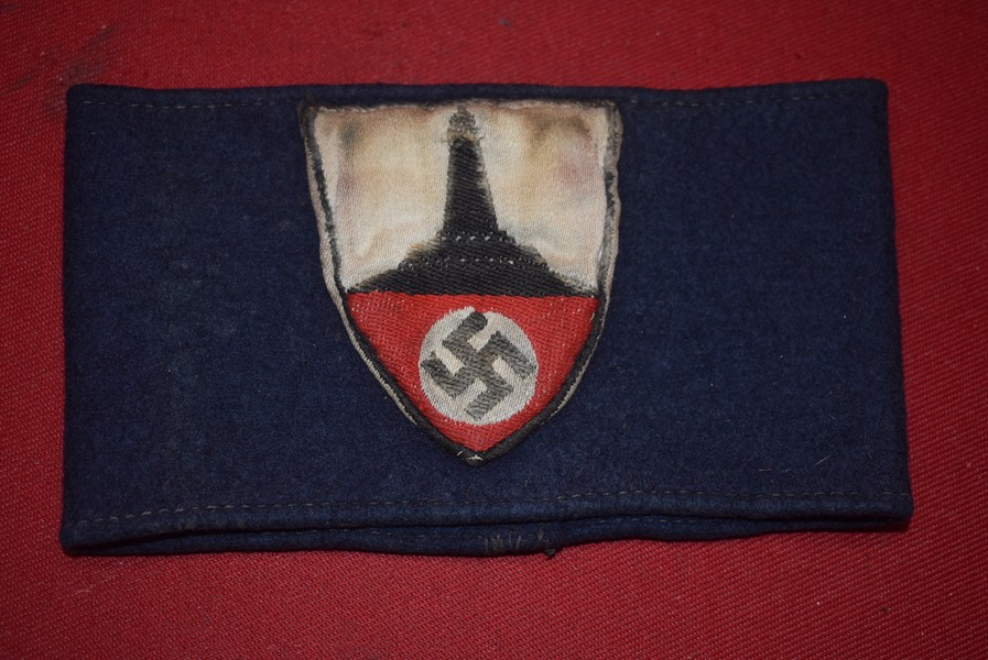 WW2 GERMAN VETERANS ASSOCIATION (KYFHAUSER BUND) ARMBAND