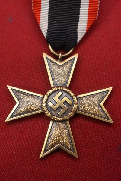WW2 GERMAN WAR MERIT CROSS WITHOUT SWORDS.-SOLD