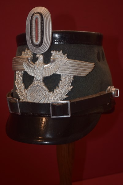 GERMAN CITY POLICE SHAKO WW2