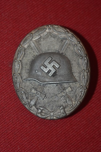WW2 GERMAN SILVER WOUND BADGE MAKER 65-SOLD