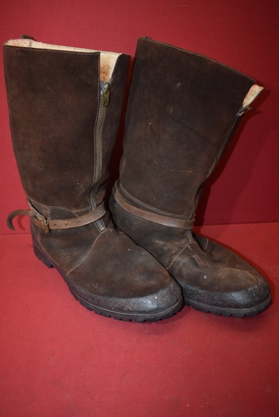 WW2 RAF 1941 PATTERN BOMBER FLYING BOOTS