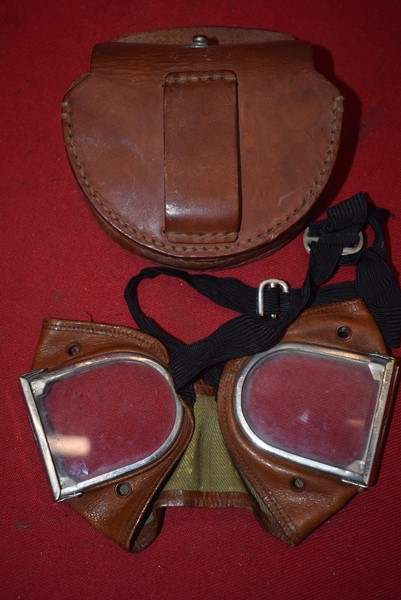 WW2 JAPANESE PILOTS/ARMY DUST GOGGLES