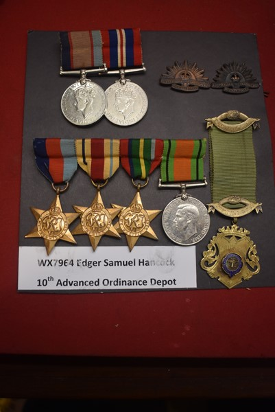 WW2 WESTERN AUSTRALIAN 6 MEDAL AFRICA/PACIFIC STAR GROUP